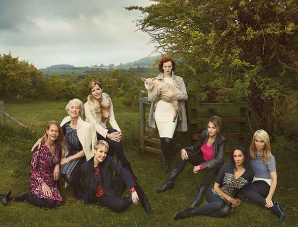 Britain's Leading Ladies for Marks & Spencer FW 2013-2014