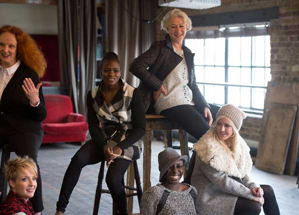 Britain's Leading Ladies for Marks & Spencer
