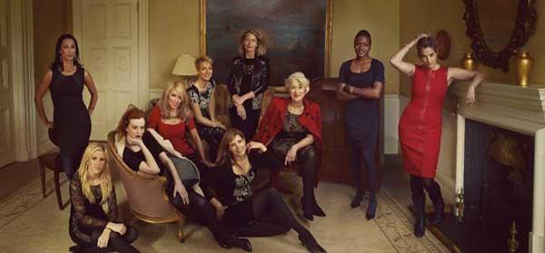 Britain's Leading Women for Marks & Spencer FW 2013-2014