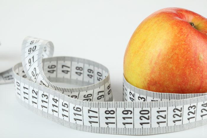 weight-loss-apple-waist