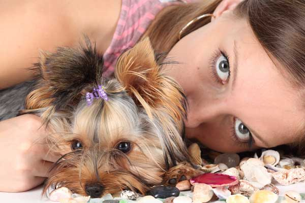 woman-pet-dog-smile-cute