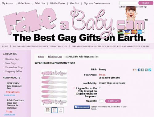 Women Buy Fake Pregnancy Kits Funny Amp Bizarre Geniusbeauty