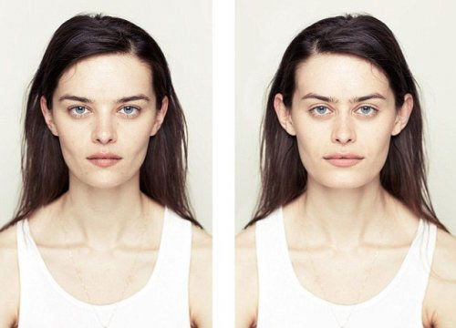 symmetrical-face