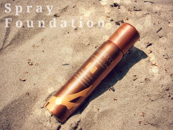 Spray-Foundation