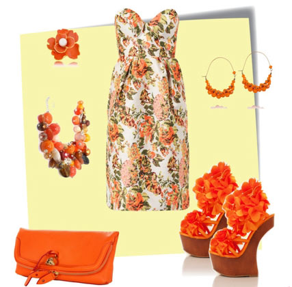 How to Combine Floral Patterns in Clothes