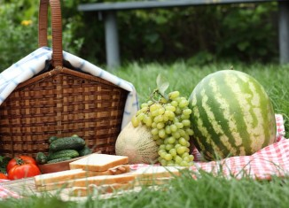 fruits, berries, grapes
