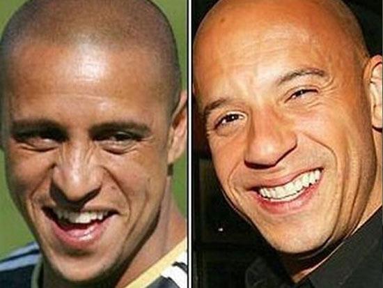Vin Diesel With His Tw...