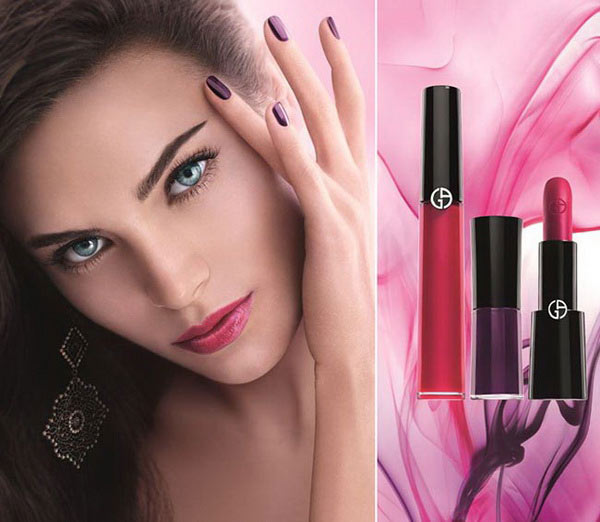 Giorgio-Armani-Spring-2015-Fuchsia-Maharajah-Makeup-Collection