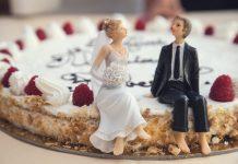 bridegroom, wedding cake