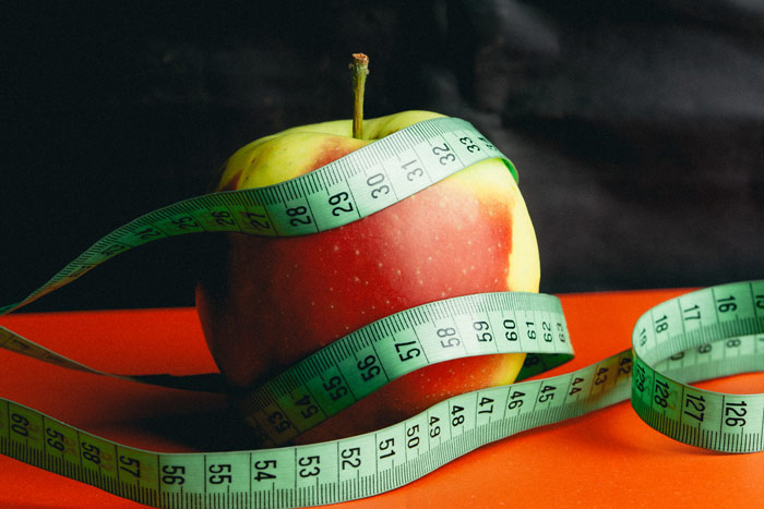 apple-gym-workout-measure-weightloss
