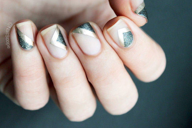 negative-space-manicure
