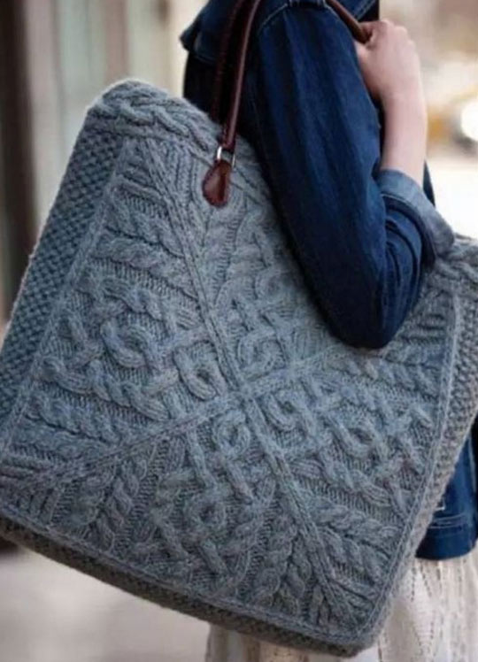 knitted-bag