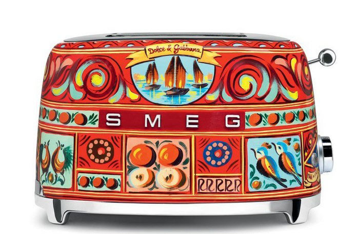sicily is my love by smeg dolce gabbana kitchen
