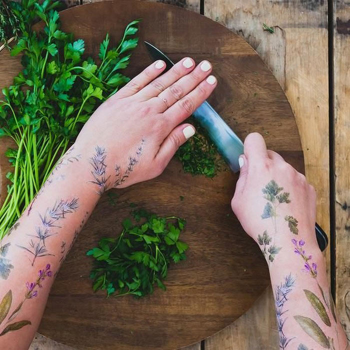 Perfume And Water Tattoo: Awesome Scented Temporary Tattoos Tattly
